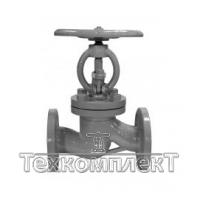 Клапан запорный 15с22нж стальной, Ду 50