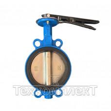 Затвор дисковый поворотныймежфланцевыйДу 125, Ру 16,c уплотнителемEPDM