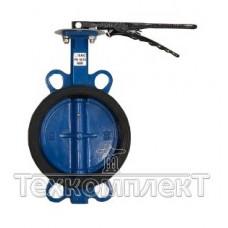 Затвор дисковый поворотныймежфланцевыйДу 125, Ру 16,c уплотнителемNBR